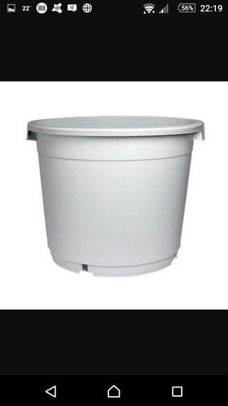 maceta tiesto 20 litros cultivo grow shop
