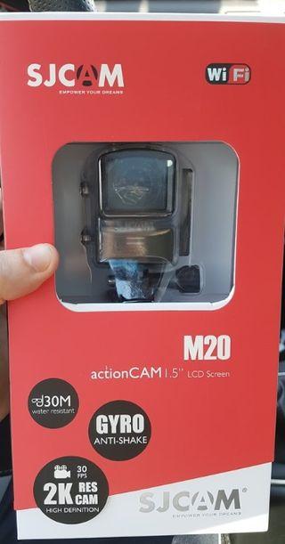 Sjcam m20 (cámara deportiva tipo gopro)