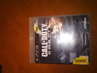 Videojuego Calle of duty Ghost
