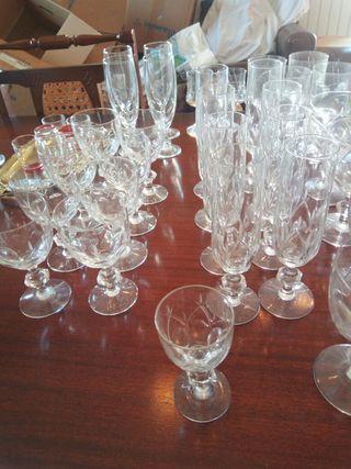 Cristalerías incompletas