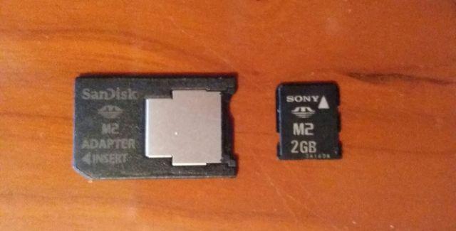 Memory Stick Micro 2GB M2