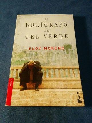 Libro El bolígrafo de gel verde de Eloy Moreno