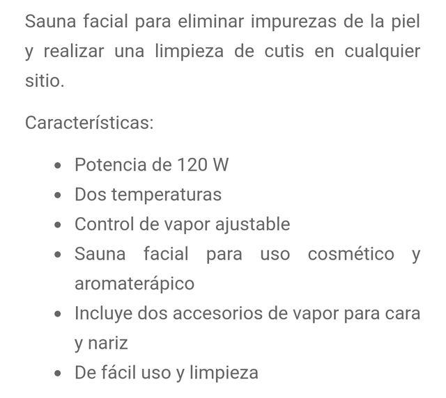 Sauna Facial Beurer SF-50