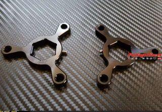 Ajustador horquillas moto CNC