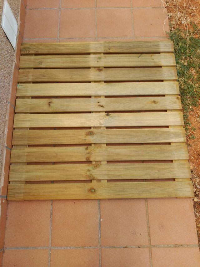 Loseta madera exterior de segunda mano por 10 en - Losetas de madera ...