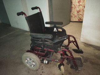 silla de ruedas electrónica minos power
