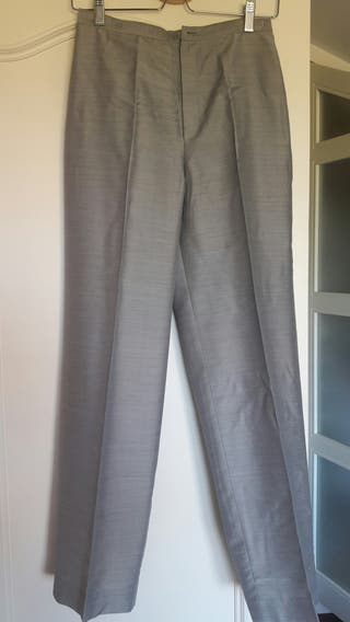 Pantalon formal gris Burberry