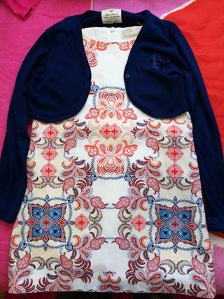 Vestido Zara 6/7 ropa niña
