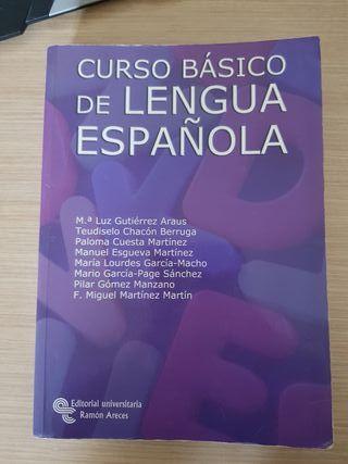 Curso básico de lengua española. Ed Aceres UNED