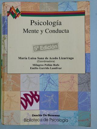 Libro: Psicología. Mente y conducta.
