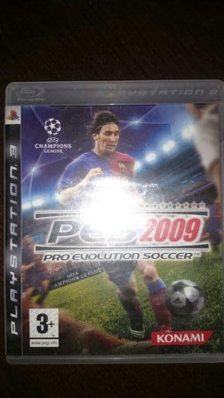Juegos ps3 PES2009