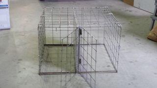 jaula transporte perros 90x90
