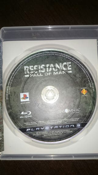 Juego Resistance Ps3
