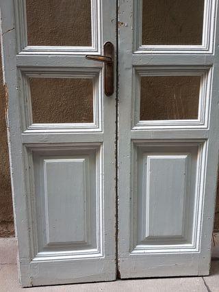Puertas antiguas de segunda mano por 150 en barcelona en - Puertas madera barcelona ...