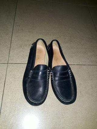 zapatos náuticos niño piel