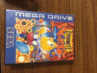 Dynamite Headdy megadrive