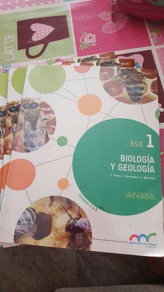Libros de Bioligia y Geologia