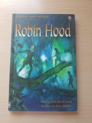 Libro Robin hood niños