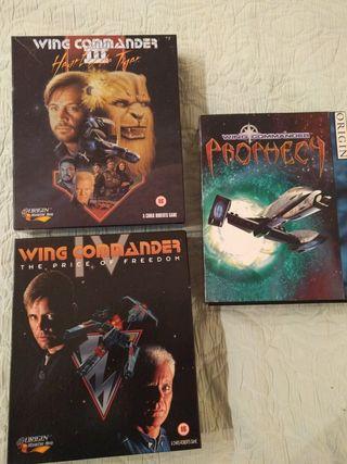 Wing Commander colección videojuegos