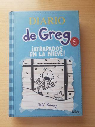 El diario de greg ( Atrapados en la nieve, n°6)