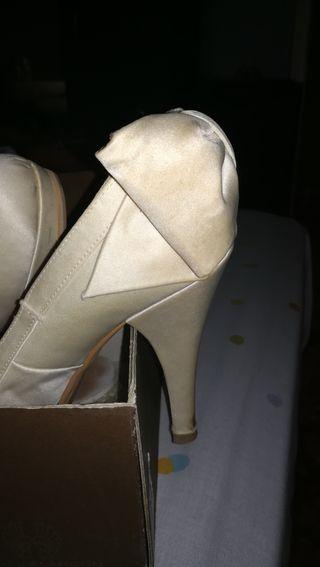 zapatos de novia de segunda mano en alicante en wallapop