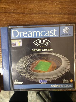 Uefa Dream Soccer dreamcast