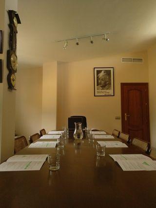 Mesa reunion empresa