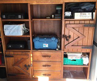 Mueble rústico de Roble Txoko CASAS RURALES