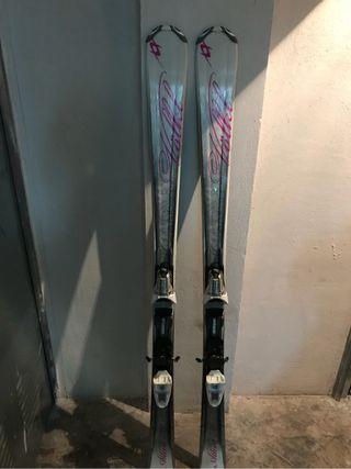 Esquís y botas head