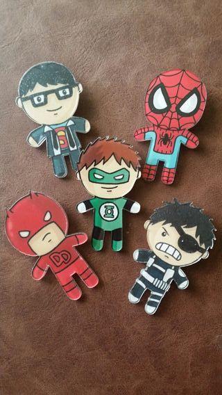 Pins de DC - Marvel
