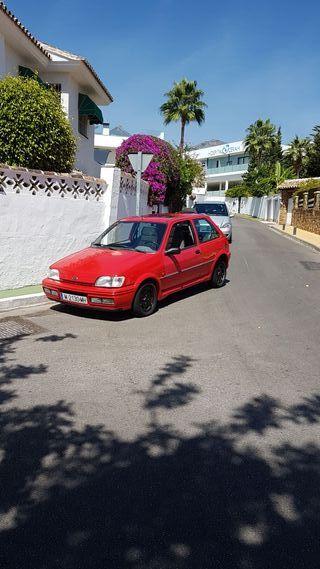 Ford Fiesta 1991 cambio para Brietling emergency.