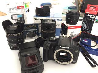 Equipo fotografia Canon 450D