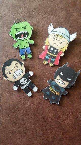 Pins Marvel - DC