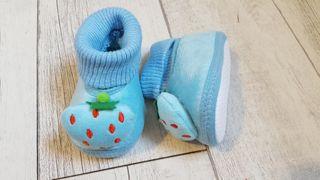 zapatillas de bebe de 12cm de pie