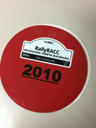 adhesivo Rally Rack 2010