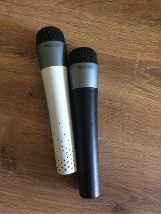 Xbox360 microfonos