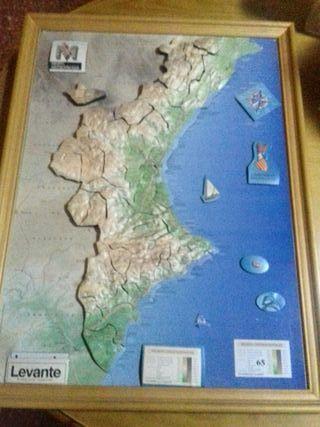 cuadro de puzzle imantado comunidad valenciana
