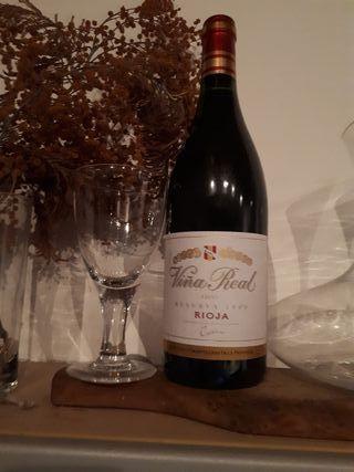 vino rioja viña real reserva 2000