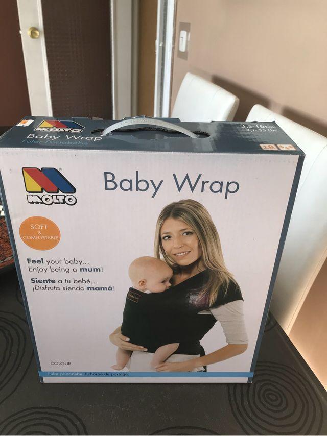 Baby Wrap Fular Portabebe De Segunda Mano Por 25 En Mejorada Del