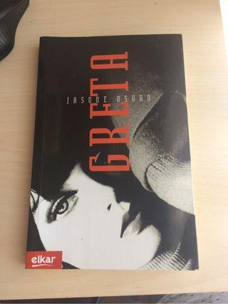 """Libro """"Greta"""" de Jasone Osoro"""