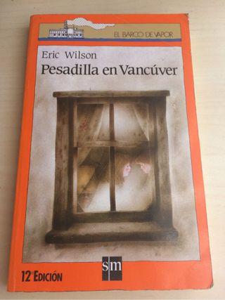 """Libro """"Pesadilla en Vancúver"""""""