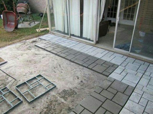 Molde Hormigon Cemento Pavimento Suelo Concreto De Segunda