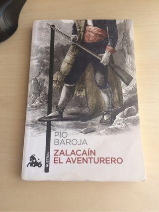 """Libro """"Zalacaín"""" de Pio Baroja"""