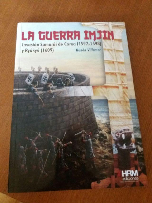 Libro La guerra Imjin