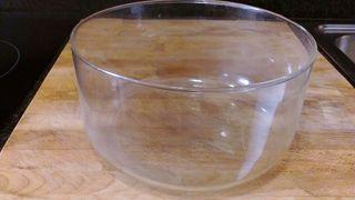 Ensaladera de cristal