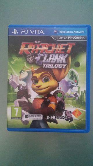 Juego Ratchet Clank Trilogy ps vita
