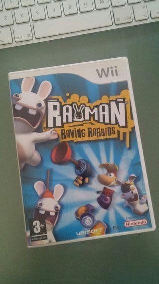 Juego Wii > Rayman Raving Rabbids