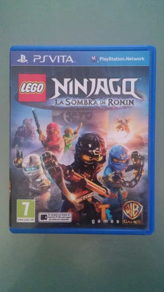 Juego Ninjago La sombra de Ronin ps vita