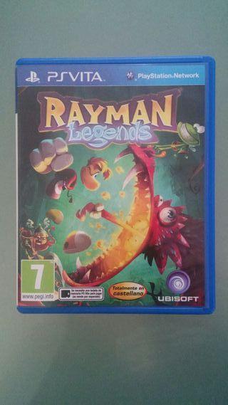 Juego Rayman Legends ps vita