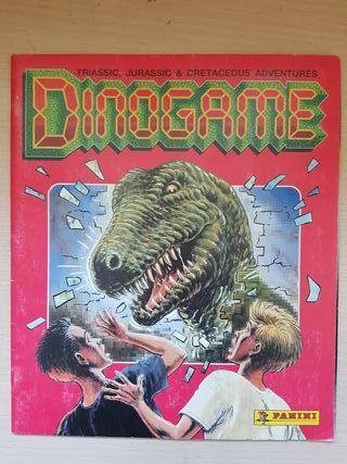 album cromos Dinogame